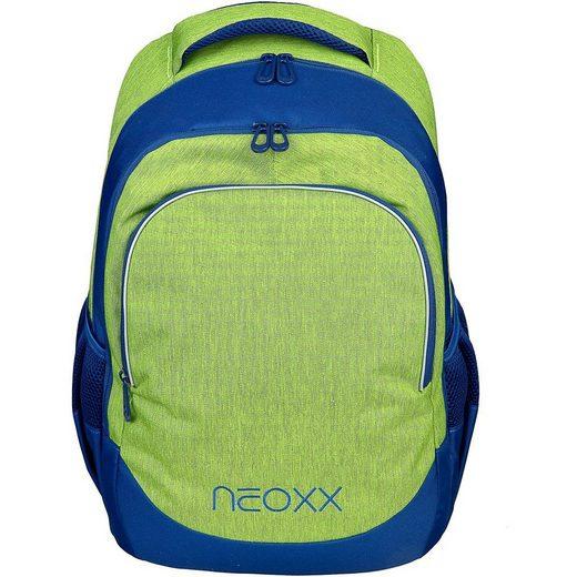 neoxx Schulrucksack »Schulrucksack Fly Stay orange (2020/2021)«