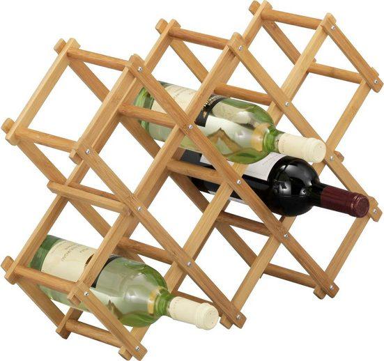 Zeller Present Weinregal »Bamboo«
