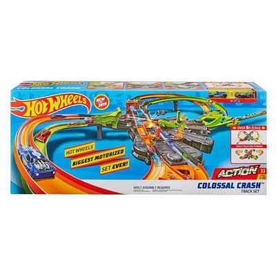 Mattel® Spielzeug-Auto »Mattel GFH87 - Hot Wheels - Action, Colossal Crash, Rennbahn mit Fahrzeugen«