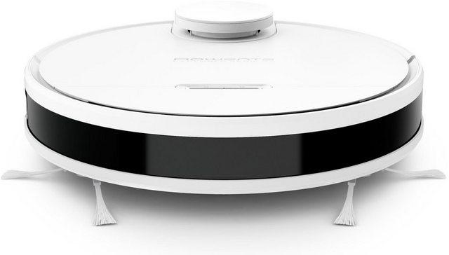 Rowenta Nass-Trocken-Saugroboter RR7987 X-Plorer Serie 95 Besonders leistungsstark Gründliche Tiefenreinigung auf 220m , 4 in 1 Saugwirkung Hochpräzise Steuerung Kompatibel mit Smartphone Sprachassistenten