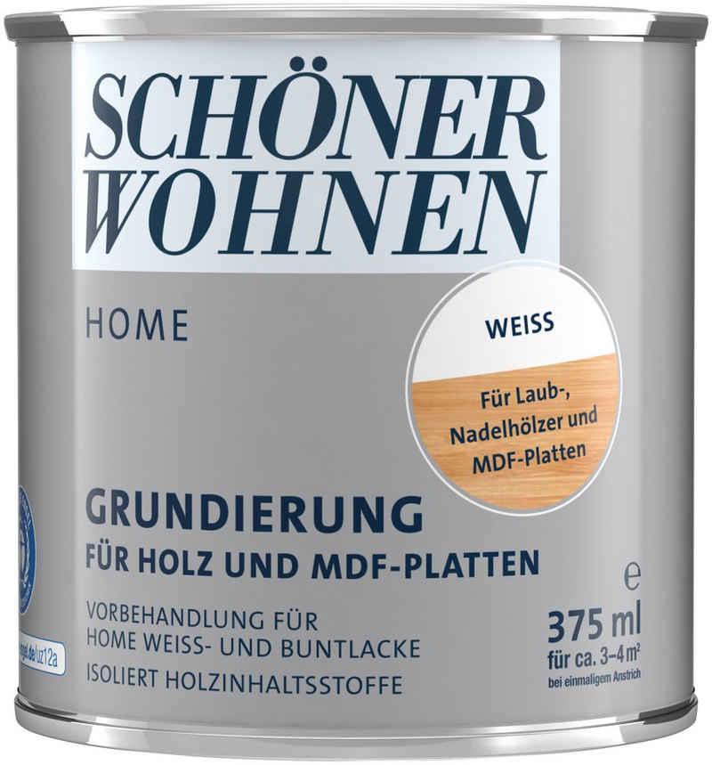SCHÖNER WOHNEN-Kollektion Holzgrundierung »Home«, für Holz & MDF-Platten, weiß