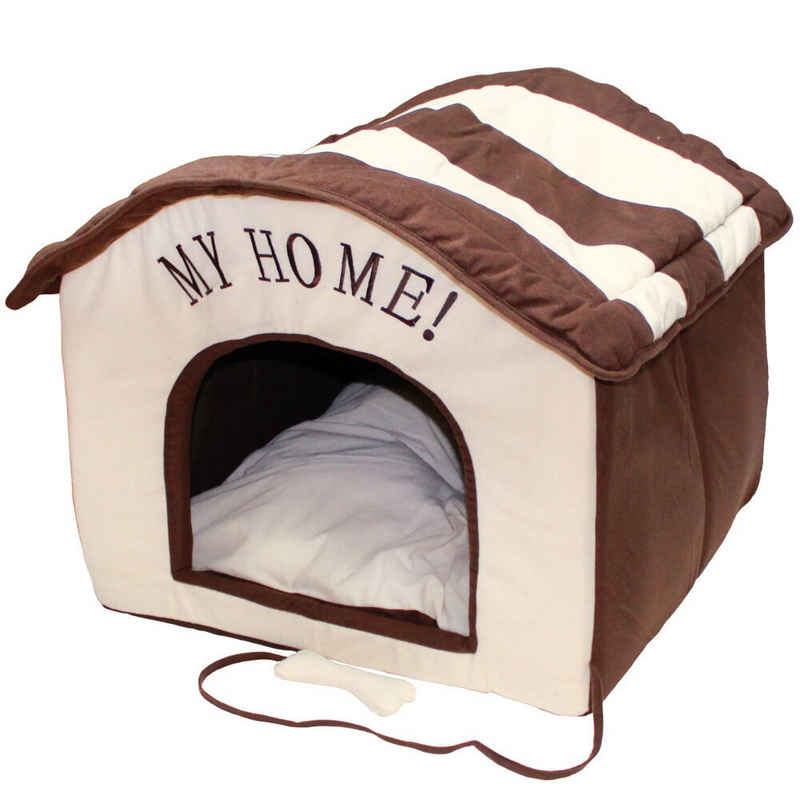 Schecker Indoorhütte »Wohnungs Hundehütte Indoor - Hundehöhle«