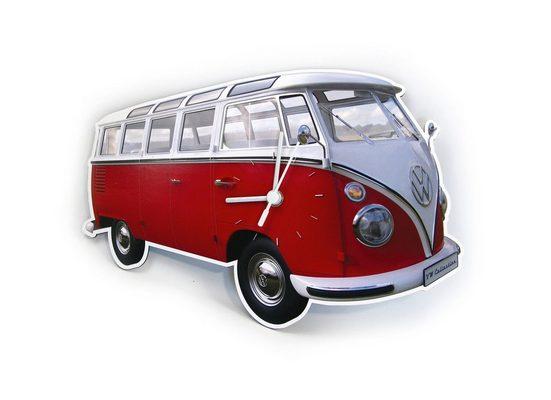 VW Collection by BRISA Wanduhr »VW Bulli T1«