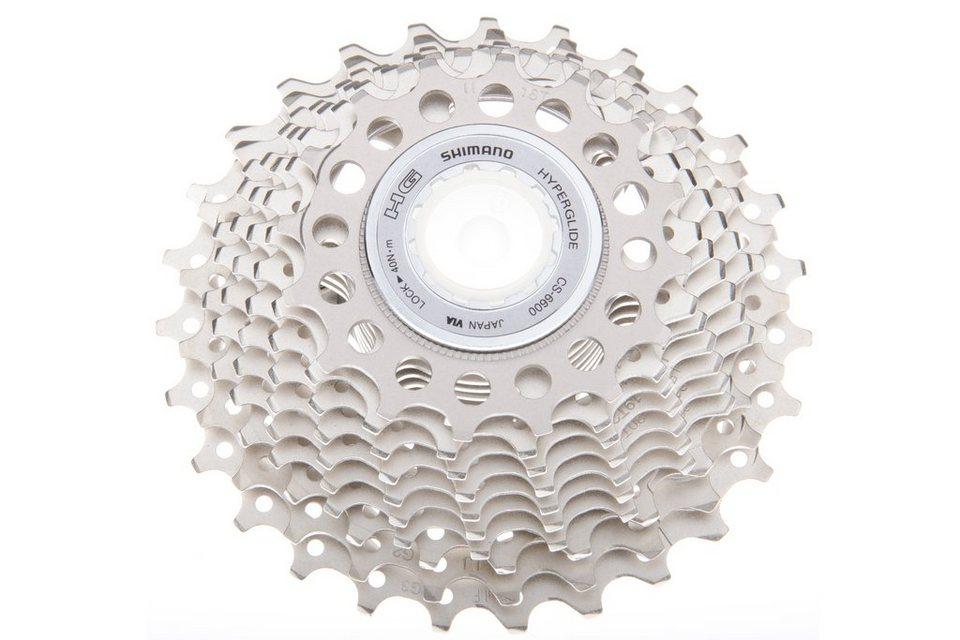 Shimano Fahrradkasetten »Ultegra CS-6600 Kassette 10-fach 16-27 Zähne«