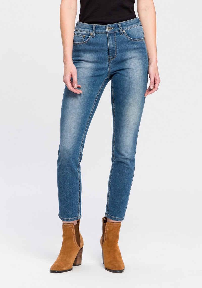 Arizona 7/8-Jeans »Shaping« High Waist