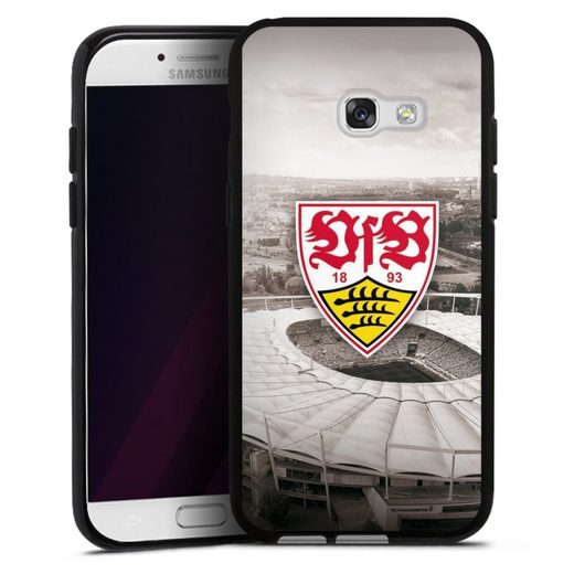 DeinDesign Handyhülle »VfB Stadion grau« Samsung Galaxy A5 (2017), Hülle VfB Stuttgart Offizielles Lizenzprodukt Stadion