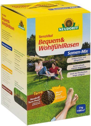 Neudorff Rasensamen »TerraVital Bequem&Wohlfühl«, 3 kg