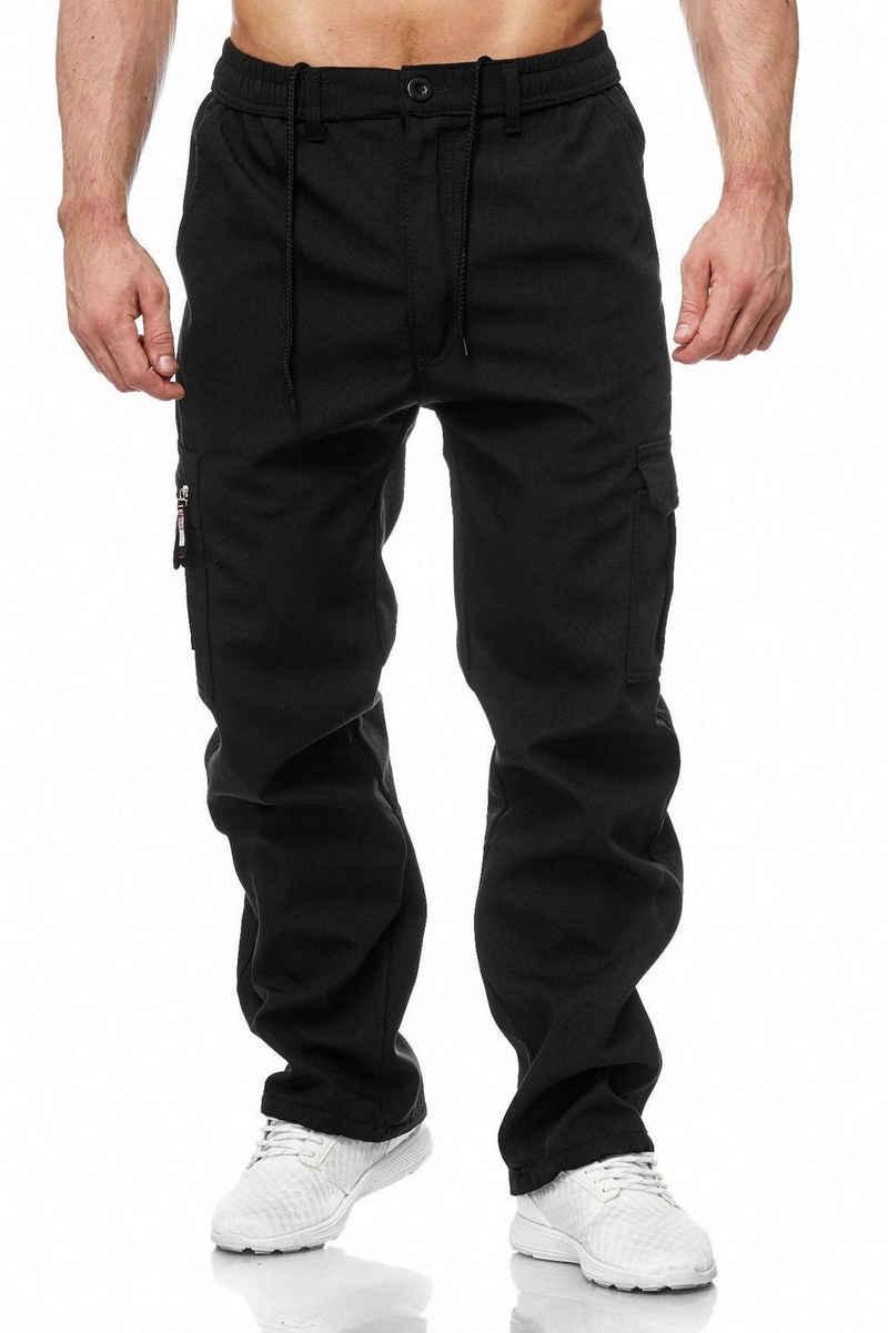 Max Men Cargohose »2000« Herren Cargohose Cargo Pants Gefüttert Tarn Muster Taktische Outdoor Hose