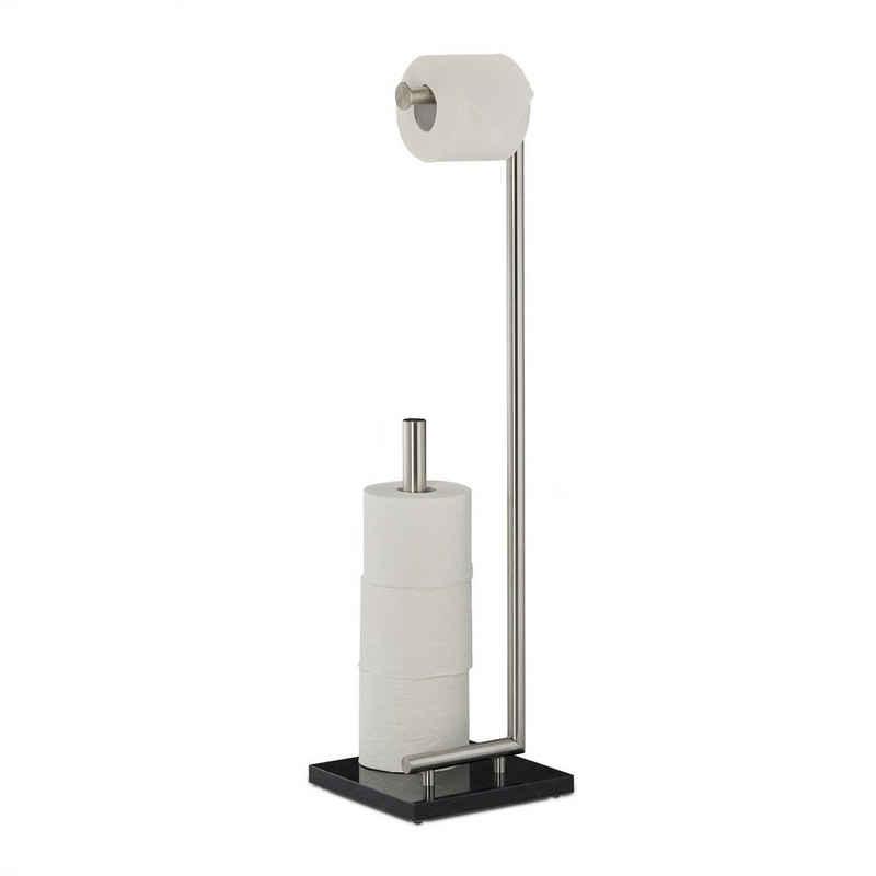 relaxdays Toilettenpapierhalter »Toilettenpapierhalter PIERRE«