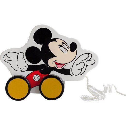 Mickey Mouse Nachziehspielzeug aus Holz
