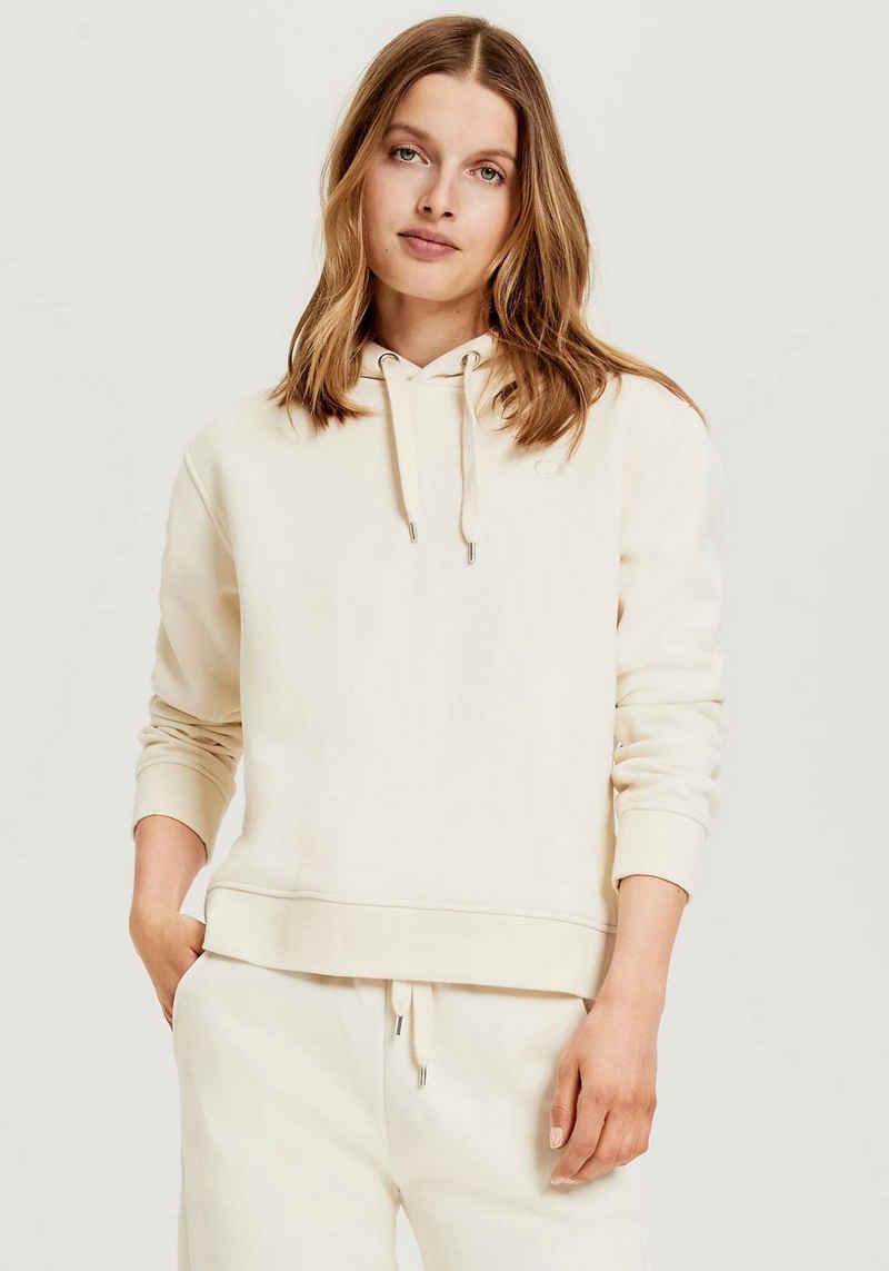OPUS Kapuzensweatshirt »Gadira« mit großen Seitenschlitzen