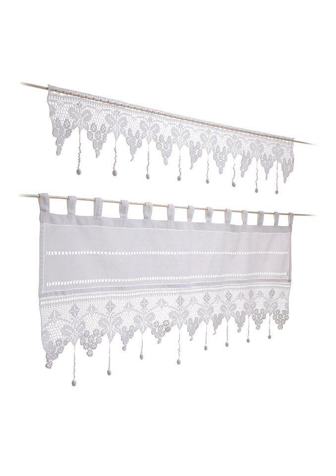 querbehang matterhorn hossner durchzugl cher 1 st ck online kaufen otto. Black Bedroom Furniture Sets. Home Design Ideas