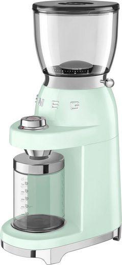 Smeg Kaffeemühle CGF01PGEU, 150 W, Kegelmahlwerk, 350 g Bohnenbehälter