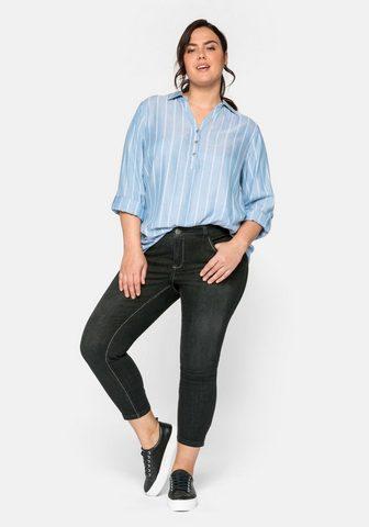 Sheego Stretch-Jeans in ultraflexibler Qualit...