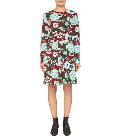 Essentiel Antwerp Minikleid »ESSENTIEL ANTWERP Raw Mini-Kleid geblümtes Damen Sommer-Kleid mit langen Ärmeln Freizeit-Kleid Bunt«