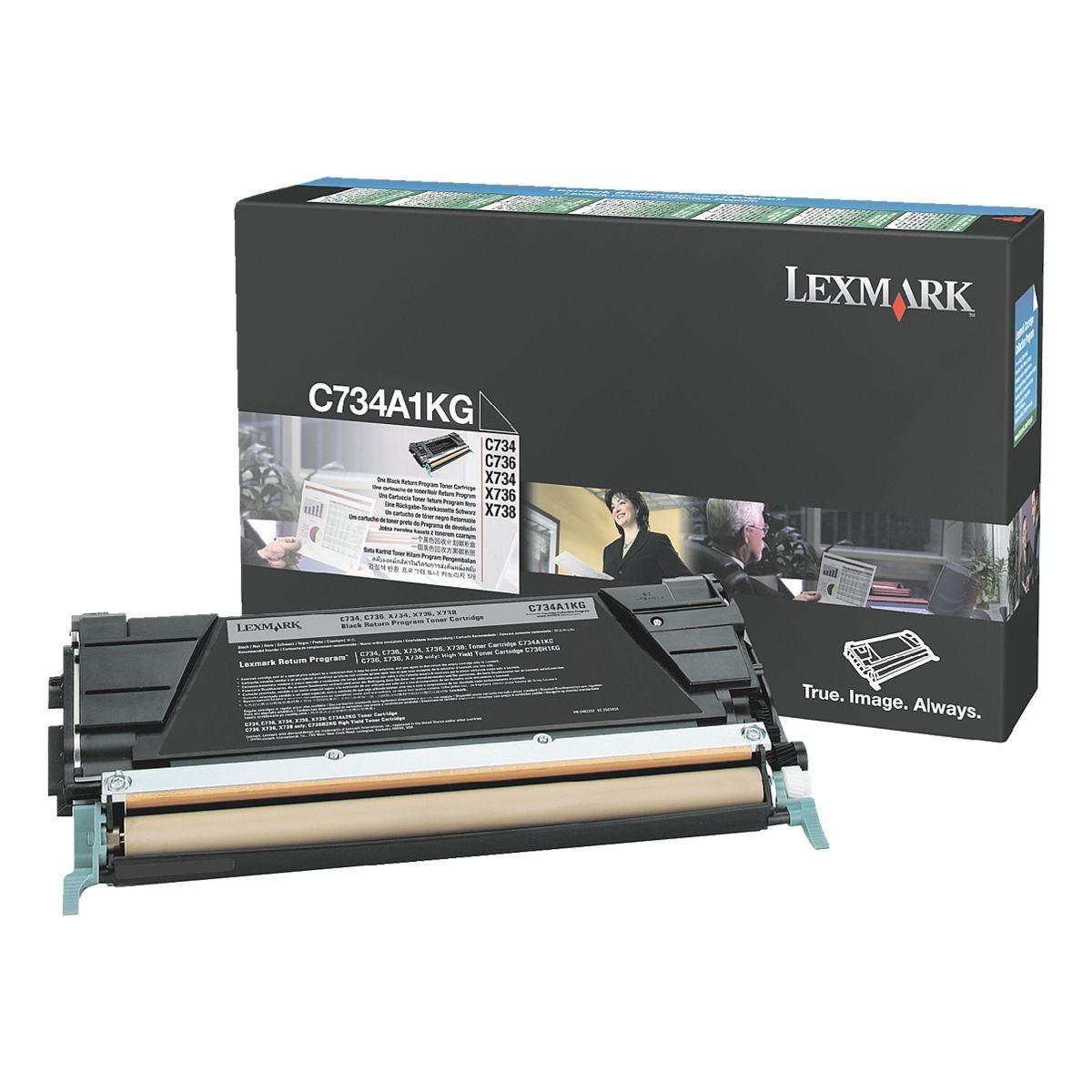 Lexmark Rückgabe-Toner »C734A1KG«