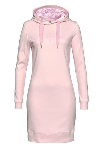 AJC Sweatkleid su Statementprint in Fleece...