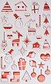 maildor Sticker »Weihnachten«, 8 Blatt, Bild 3