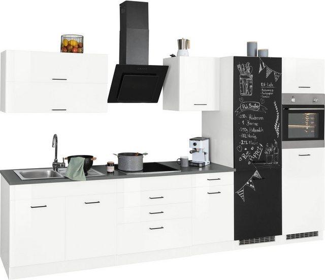 Einbauküchen - HELD MÖBEL Küchenzeile »Trier«, mit E Geräten, Breite 350 cm  - Onlineshop OTTO