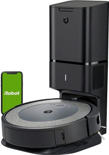 iRobot Saugroboter Roomba® i4+ (i4558) WLAN-fähig mit Kartierung und automatischer Absaugstation, ideal bei Haustieren