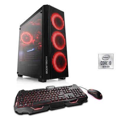 CSL HydroX T9612 Wasserkühlung Gaming-PC (Intel Core i9, RTX 3070, 16 GB RAM, 1000 GB SSD, Wasserkühlung)