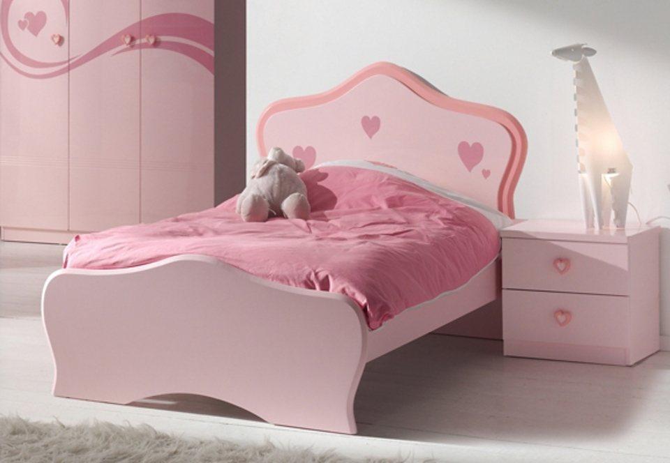 Kinderzimmer (3tlg.), Vipack in mit klassischem Bett