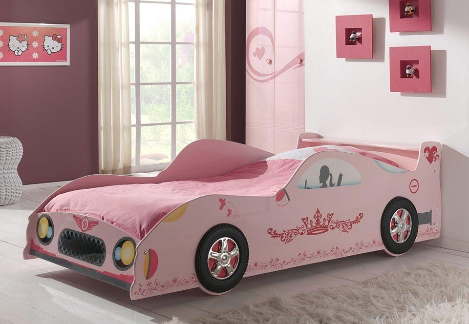 Bett in Sportwagen-Optik, Vipack