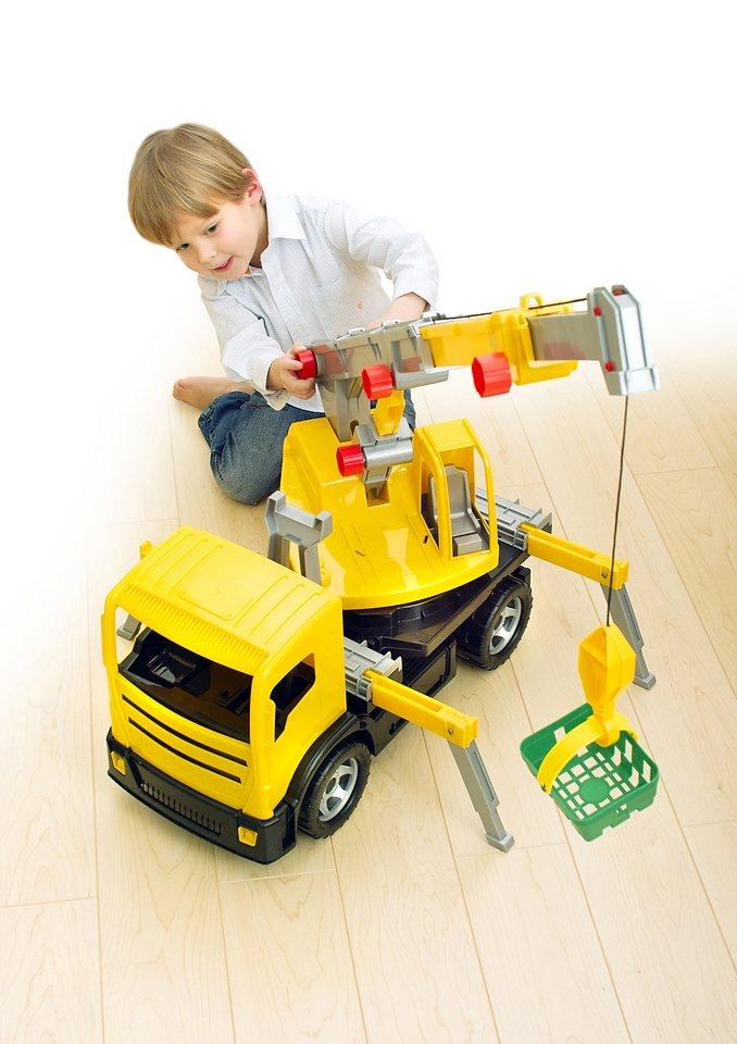 LENA® Spielfahrzeug »Kranwagen« in gelb