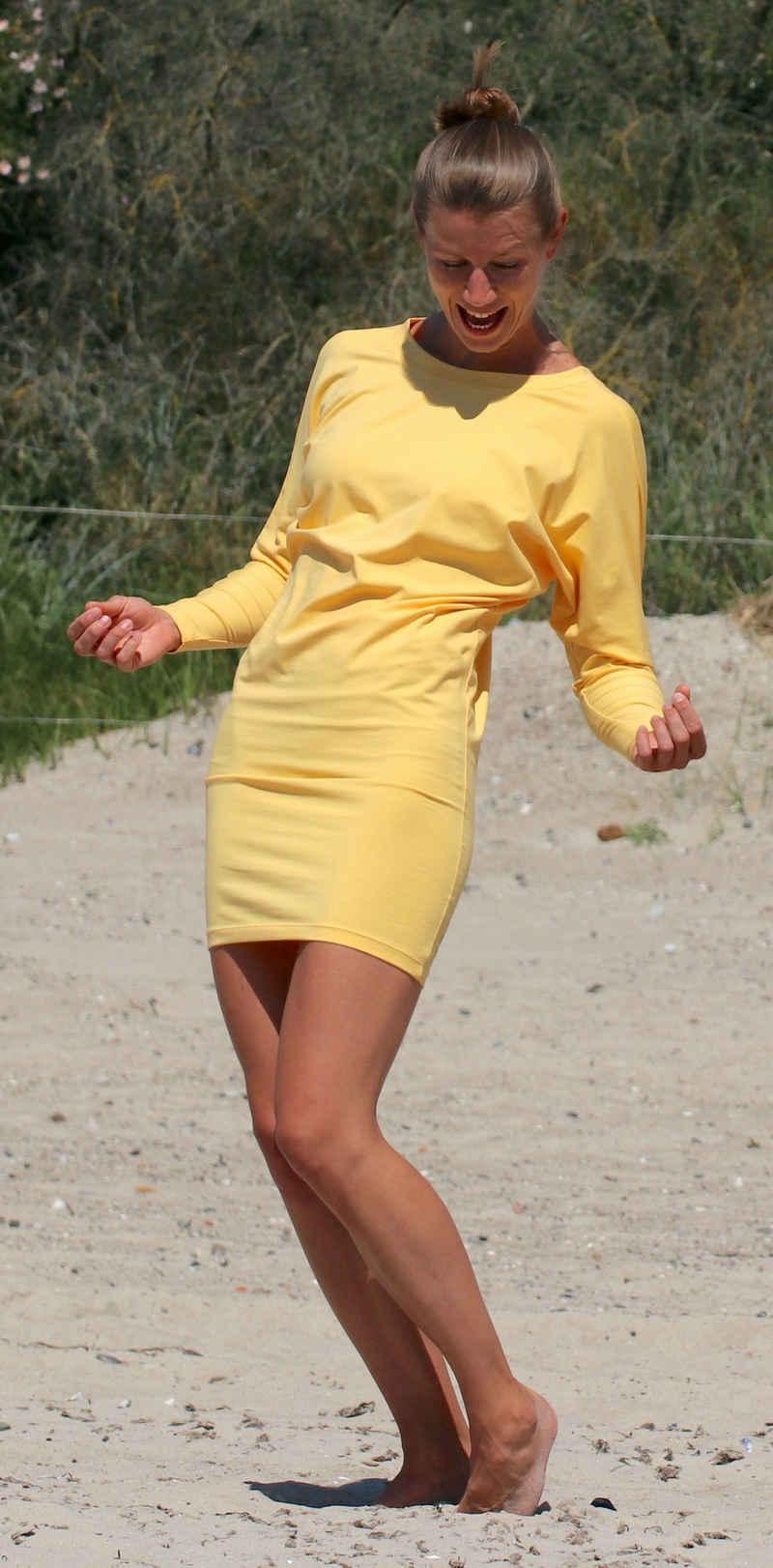ESPARTO Longshirt »Sportkleid / Longshirt Eva in Bio-Baumwolle« Bequemes, elegantes Sportkleid, raffiniert und vielseitig tragbar