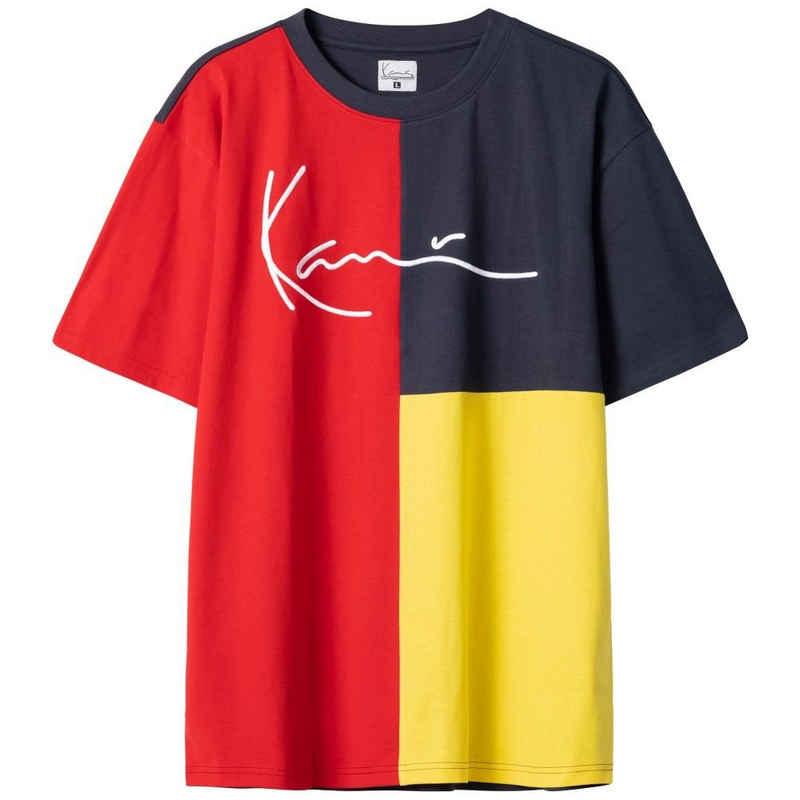 Karl Kani T-Shirt »Karl Kani Herren T-Shirt Signature Block red« (1-tlg)