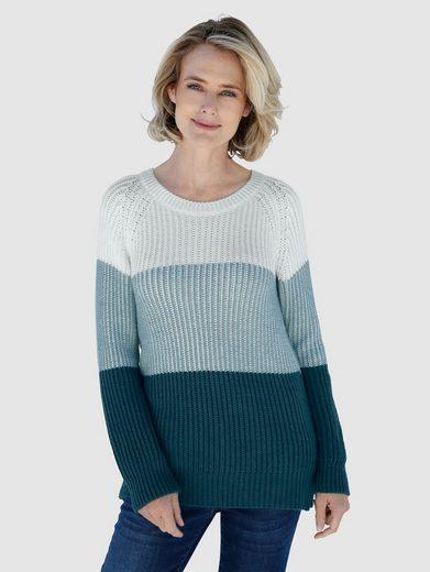 Dress In Pullover mit Blockstreifen