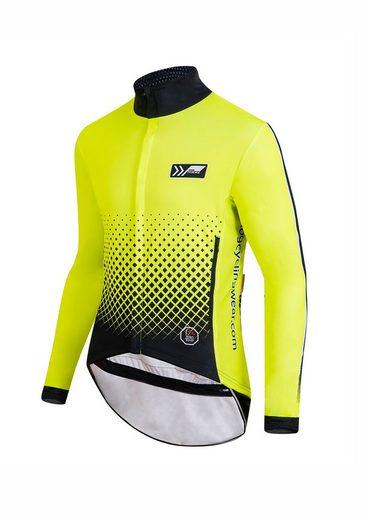 prolog cycling wear Fahrradjacke mit belüftenden Mesh-Einsätzen