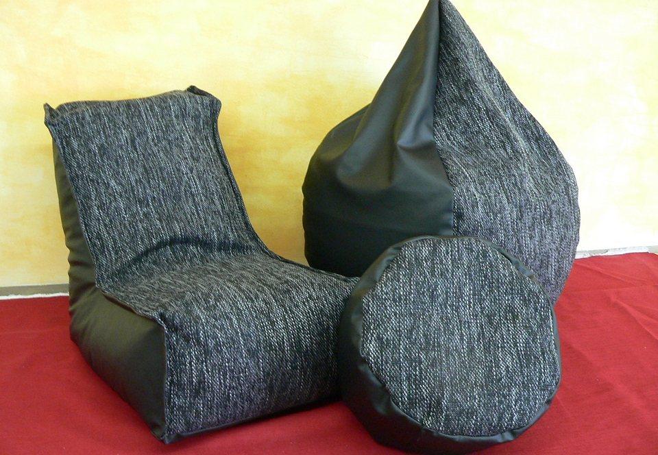 Sitzsack in Ø 53, H. 94 cm