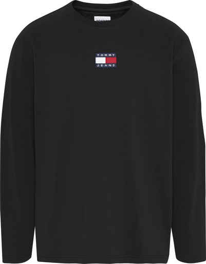 Tommy Jeans Langarmshirt »TJM LS TOMMY BADGE TEE«