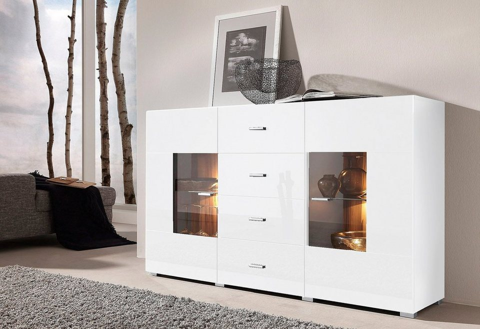 sideboard breite 150 cm online kaufen otto. Black Bedroom Furniture Sets. Home Design Ideas