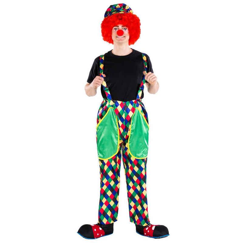 dressforfun Clown-Kostüm »Herrenkostüm Clown August«
