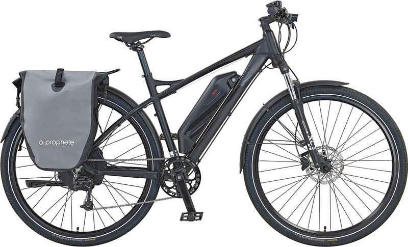 Prophete E-Bike »Prophete Graveler e7000«, 10 Gang Shimano Deore Schaltwerk, Kettenschaltung, Heckmotor 250 W