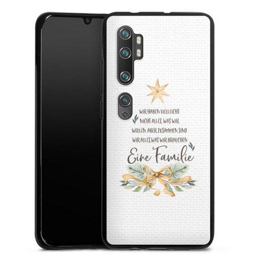 DeinDesign Handyhülle »Eine Familie« Xiaomi Mi Note 10, Hülle Familie Glück Sprüche