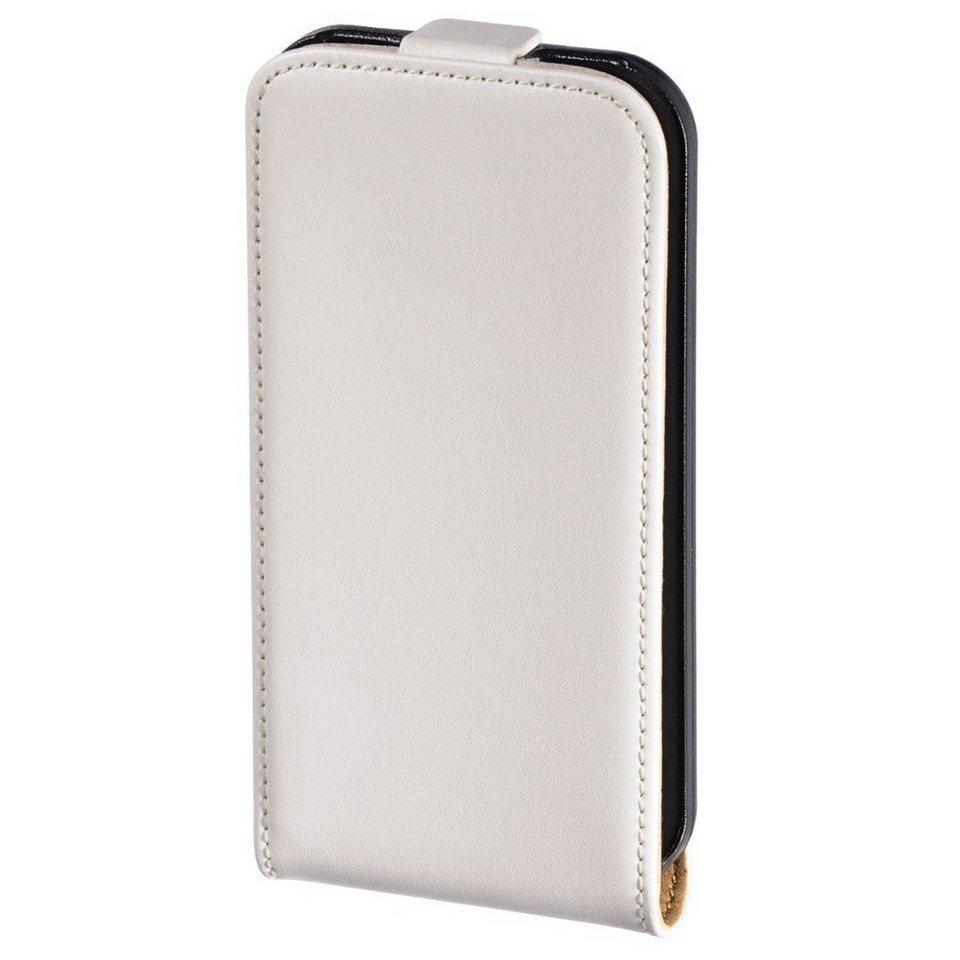 Hama Flap-Tasche Frame für Apple iPhone 4/4S, Weiß in Weiß