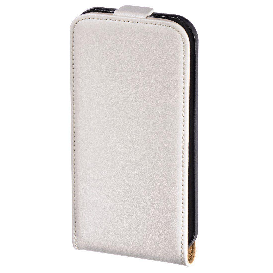 Hama Flap-Tasche Frame für Apple iPhone 4/4S, Weiß