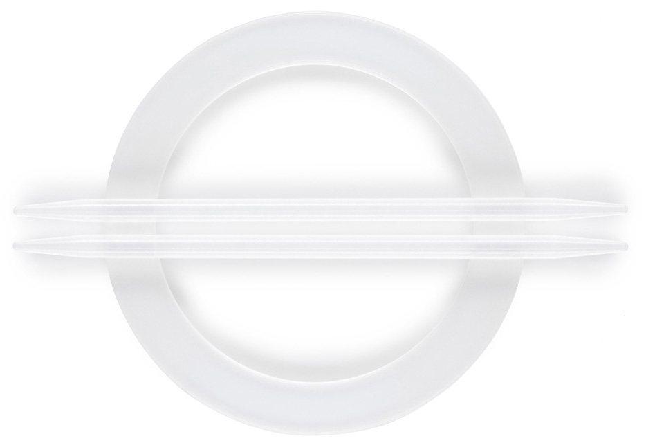Dekoraffspange, Gerster, »Luana« (2 Stück) in transparent