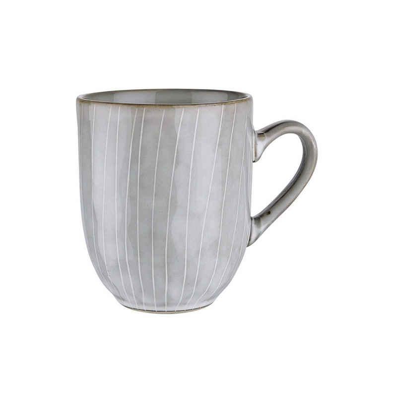 BUTLERS Tasse »HENLEY Tasse 400ml«, Steinzeug, reaktive Glasur