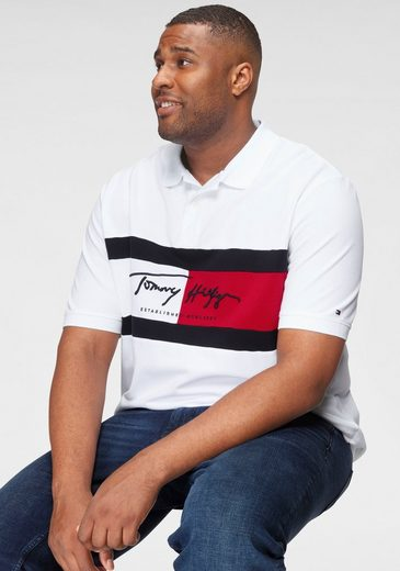 Tommy Hilfiger Big & Tall Poloshirt »BT-AUTOGRAPH FLAG POLO-B«