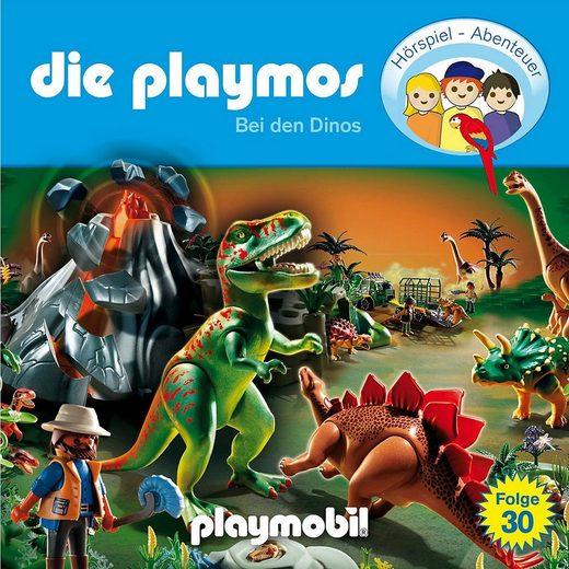 Edel Hörspiel »CD Die Playmos 30 - Bei den Dinos«
