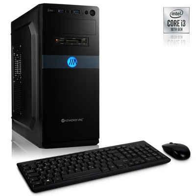 Memory PC Windows 10 Home Business-PC (Intel Core i3 10105F, GT 710, 8 GB RAM, 120 GB SSD, Luftkühlung)