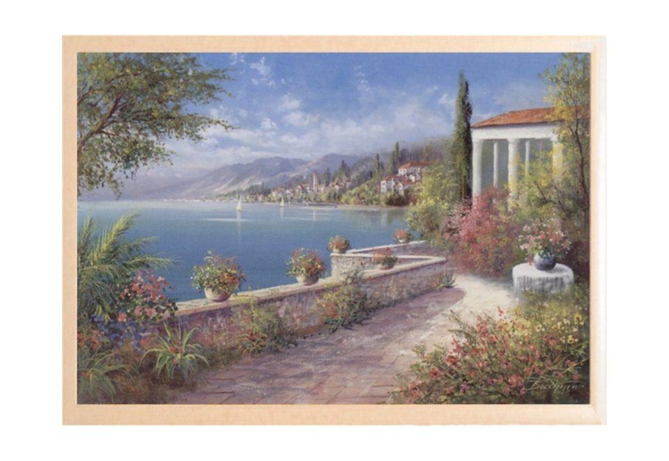 Home affaire Wandbild »Riviera di Levante«