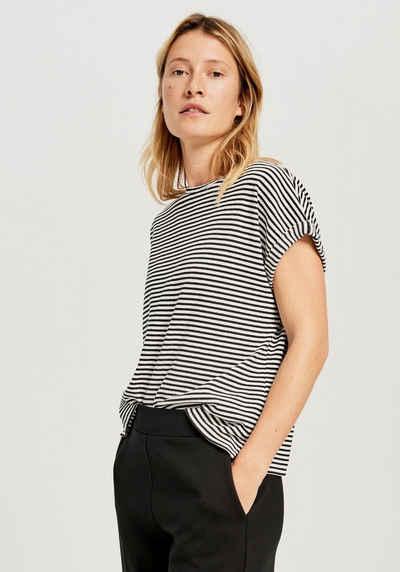 OPUS T-Shirt »Sipay« im sommerlichen Streifenmuster