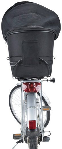 TRIXIE Hunde-Fahrradkorb »Long«, für breite Gepäckträger, BxTxH: 29x60x49 cm