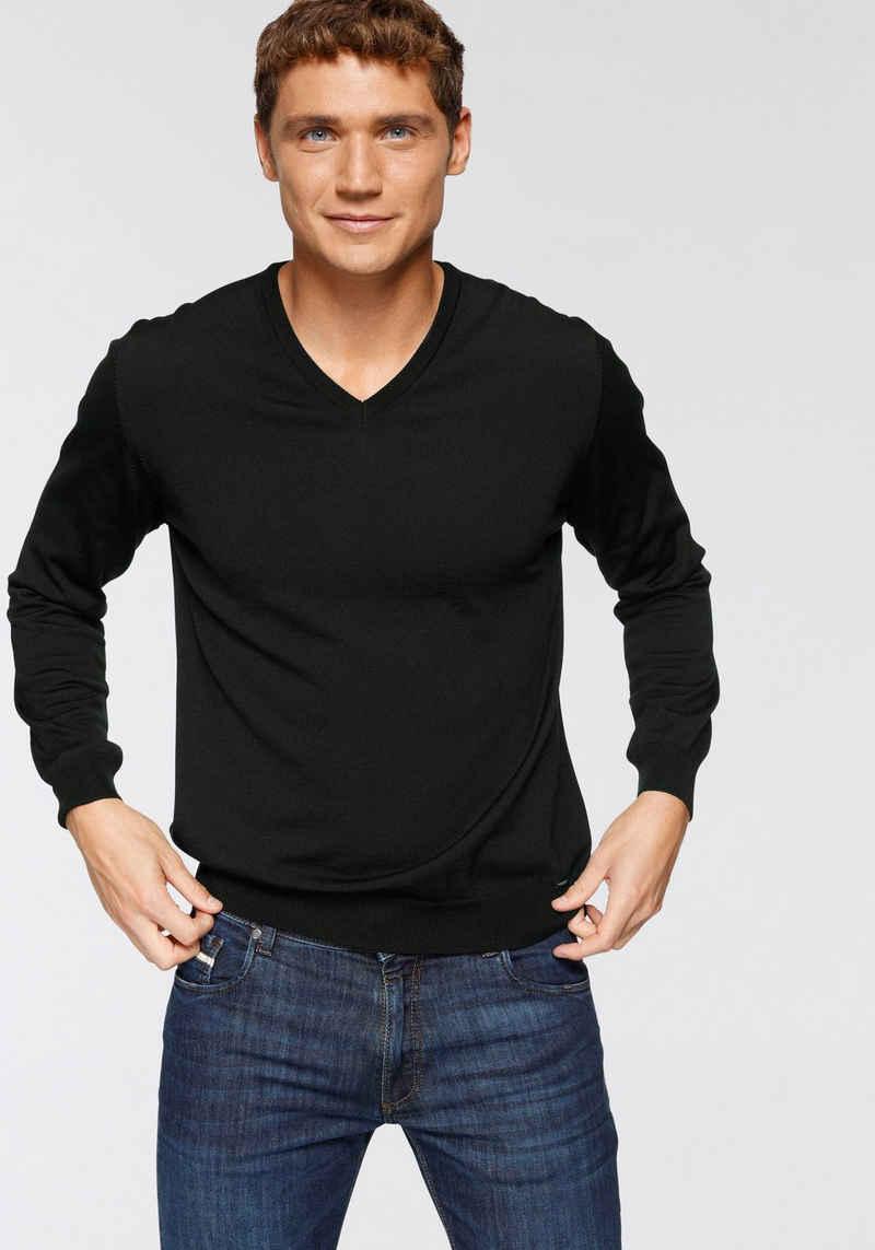 OLYMP V-Ausschnitt-Pullover »Luxor«