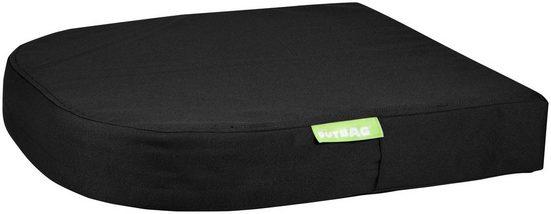 OUTBAG Auflage »Moon pillow PLUS«, robust und wasserdicht, B/L: 45x45 cm